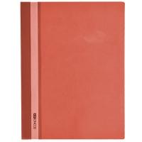 Скоросшиватель А4 Economix глянец бордовый без перфорации Е31511-18