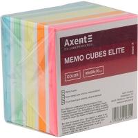 Блок бумаги для записей 90*90 700л цветной не клееный Axent Elite Color 8028-А