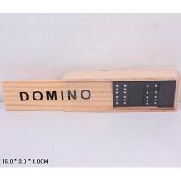 Домино B15623 в деревянном футляре 15*3*4см 3-501 (25070)