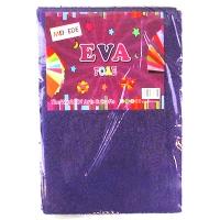 Фоамиран для творчества махра фиолетовый 10л 9-76 (22224)