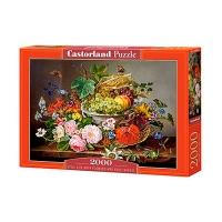 Пазлы Castorland 2000 эл Фрукты с цветами С-200658