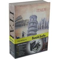 Шкатулка Книга Italy металл сейф 57293