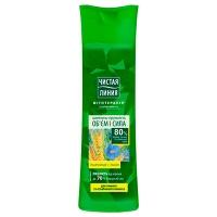 Шампунь Чистая Линия Льон-Пшеница для тонких волос 400мл 8028