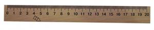 Линейка деревянная шелкография 20см 103007 ЛК-004-МВ