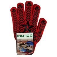 Перчатки Звезда с ПВХ рисунком красные DOLONI 4040 Цена за пару