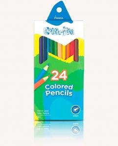 Карандаши цветные 24шт MARCO 1100-24