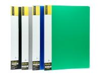 Папка А4 пластиковая с прижимом Format CLIP В ассорти F38202