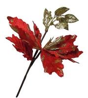 Новогодние украшения Цветок 24*34см 90733-PN