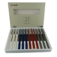 Ручка капилярная черная BAIXIN арт 6205 1-130 3-24 (21490)