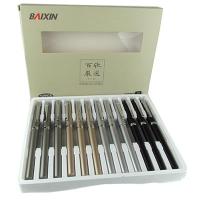 Ручка капилярная черная BAIXIN арт 6202 1-131 3-27  (21490)