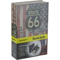 Шкатулка Книга Route метал.сейф ср..  57294