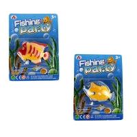 Водоплавающие игрушки 2253/2255 (858138) (780шт/2)6 видов, на планш 19*14*3см 7 toys