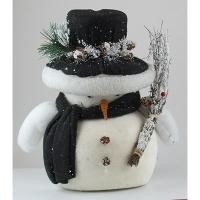 Новогодний декор Снеговик 10-3