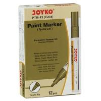 Маркер лаковый золото Joyko PTM-43