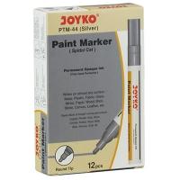 Маркер лаковый серебро Joyko PTM-44