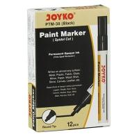 Маркер лаковый черный Joyko PTM-38