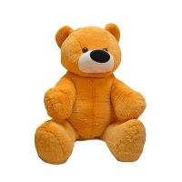 Мягкая игрушка Бублик медведь №3 персик