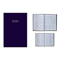 Ежедневник А5 датированный MONOCHROME 336л синий 2020г BM.2160-02