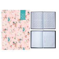 Ежедневник А5 датированный PROVENCE 336л розовый 2020г BM.2161-10