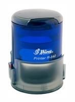 Оснастка автомат для круглой печати d 42мм аквамарин R-542