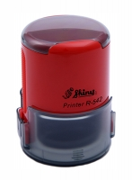 Оснастка автомат для круглой печати d 42мм красная R-542