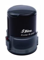 Оснастка автомат для круглой печати d 42мм черная R-542