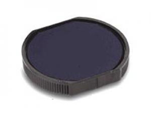 Подушка штемпельная сменная для печати D42мм синяя  R542-7