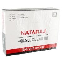 Ластик Nataraj allclear черная 202300015