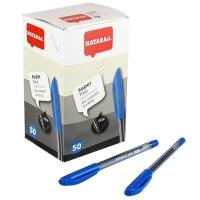 Ручка шариковая синяя 0,7мм Nataraj Super Fine 50шт уп  206490007