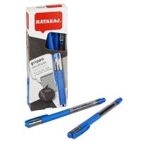 Ручка шариковая синяя 1мм Nataraj Grippo Medium 10шт в уп 206500005
