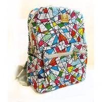 Рюкзак кожзам женский Абстракция 8-272 G1-11821