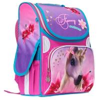 Рюкзак 2 отделения Rainbow Unicorn 34*26*13см 300D PL 9-504