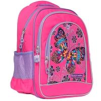 Рюкзак 2 отделения бабочка Class Flower Butterfly 38*28*18см 300D PL 9936