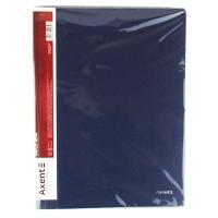 Папка А4 с 40 файлами синяя 1040-02-А