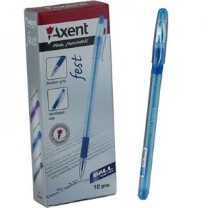 Ручка шариковая синяя FEST AB1000-А,02 Axent