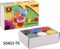 Гуашь набор 6цв TIKI 60мл картонная упаковка 50403-ТК