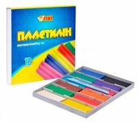 Пластилин 12цв 180гр TIKI 52115-ТК