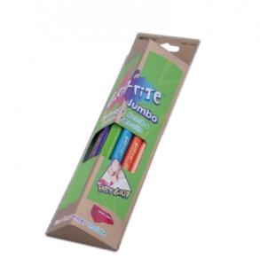 Карандаши цветные 12шт в треугольной упаковке Jumbo MARCO 9400-12СВ