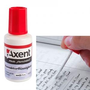Корректор с кисточкой Axent 20мл 7001-А