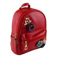 Рюкзак детский кожзам Цветы 865-02 1-263 (23529)