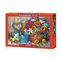 Пазлы Castorland 1500 эл Полевые цветы C-151684
