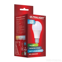 Лампа светодиодная LED-A60-7W-N-E27