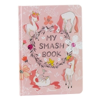 Книга А5 Альбом для друзей: My Smash Book 14 укр 4614