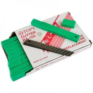 Лезвие для ножей 9мм 8-150 (30/600) 6-277 (23880)