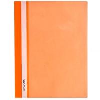 Скоросшиватель А4 Economix глянец оранжевый без перфорации Е31511-06