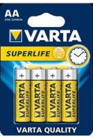 Батарейка пальчик 4 AA Superlife 02006 VARTA