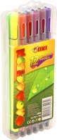 Фломастеры 12 цветов пласт уп TIKI 52701-TK