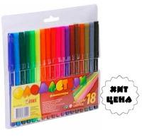 Фломастеры 18 цветов TIKI 52705-TK