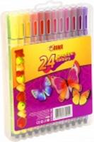Фломастеры 24 цвета пласт уп TIKI 52703-TK