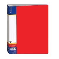 Папка А4 с 60 файлами Economix ассорти E30606